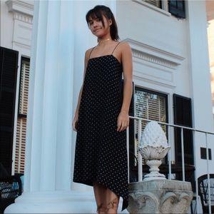 Tibi Silk Midi Dress 0/XS